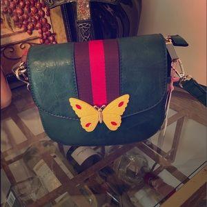 Handbags - Unique vegan over the shoulder purse